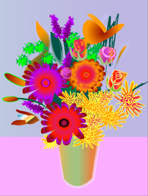 Bouquet - Graphic Design with Adobe Illustrator