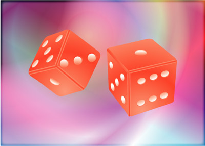 Red Dice - Graphic Design with Adobe Illustrator