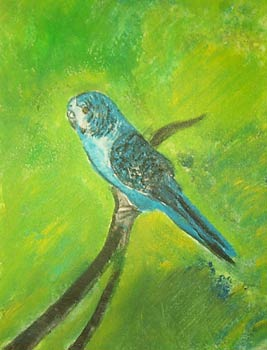 Parrot - Acrylic Painting